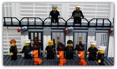 (peter-ray) Tags: prison carcere galera priginieri police brick minifigure mini figure lego peter ray moc samsung nx2000 secondini alcatraz diorama