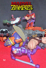 Marvel Multiverse 009 (lendasmarvel) Tags: marvellegends zombies spiderman homemaranha magneto machineman homem máquina baf