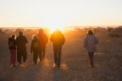 Walking into sunset (Big Red Bash) Tags: bigredbash birdsville festival