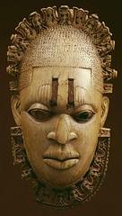 16th Century Ivory Portrait of Queen Mother Idia (jericl cat) Tags: met metropolitan museum ivory mask african benin articla painting grandma ada