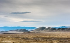 In a lonely place (Photosuze) Tags: landscape california carrizoplain sky clouds hills winter landscapes like this that help me appreciate shape land