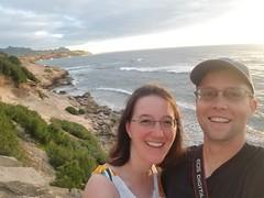 Selfie on Maha'ulepu Trail (jtbradford) Tags: kauai hawaii