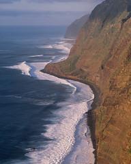 The west end of Europe (JaZ99wro) Tags: exif4film analog ocean provia100f e6 sunset tetenal3bathkit water plustekopticfilm120 pentax67ii f0364 madeira film waves