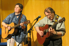 Hicks & Goulbourn (taptonted617) Tags: hicks goulborn music muiian folk cheterfiel library 2015