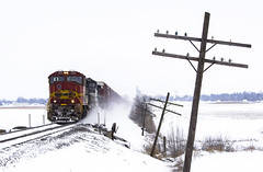 Neglected (Seven Tracks Photography) Tags: prlx prlx208 sd75m atsf santafe railroad philo 181 ns norfolksouthern lafayettedistrict train tracks railfanning railfan manifest mixedfreight illinois outdoor photography power locomotive freight bnsf emd il snow