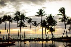 Slipping Away (Thomas Hawk) Tags: grandwailea hawaii maui wailea waldorfastoria waldorfastoriagrandwailea beach clouds humuhumu humuhumunukunukuapuaa palmtree restaurant sunset tree fav10 fav25 fav50 fav100