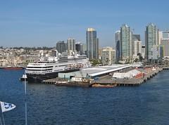Ruby Princess - Sea of Cortez Cruise (Jasperdo) Tags: rubyprincess princesscruiseline cruise cruising sandiego california skyline hollandamerica maasdam cruiseship