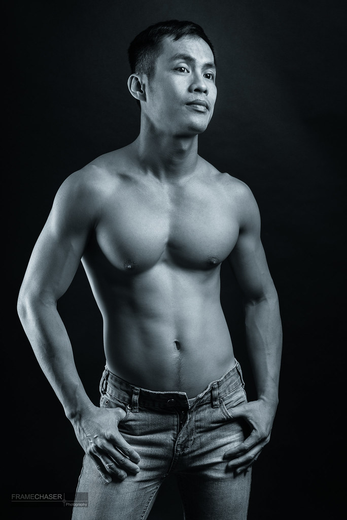 DL VI (FrameChaser) Tags: male men asian portrait fineart studio nude model  briefs