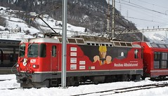 20190126 - 2558 - RhB - 629 (+ Alvra Set) - Landquart (Paul A Weston) Tags: switzerland rhb rhatischebahn landquart 629 alvra