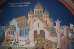 Роспись храма в честь Иоанна Златоуста в г. Риверсайд