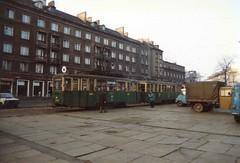 Poznań Tram (Ray's Photo Collection) Tags: tram poland railway railways polish winter snow tour rail poznan 1989 poznań posen strassenbahn tramwaj