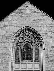 All Saints Church (Mondmann) Tags: allsaintschurch church religion worship episcopal anglican architecture christianchurch christian pasadena california usa unitedstates america monochrome bw blackandwhite stainedglasswindow mondmann canonpowershotgx7