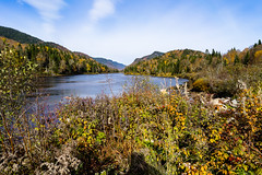 Jacques-Cartier River, Quebec, Canada (Agirard) Tags: jacquescartier river quebec canada autumn fall trees leaves colors wilderness landscape batis batis18 2818 2818mm 18mm zeiss sony a7ii
