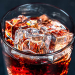 Brown drink with ice thumbnail