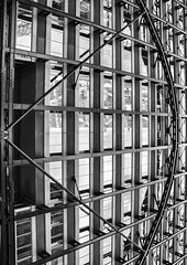 Bring me my Bow... (Joseph Pearson Images) Tags: uilding architecture abstract exchangehouse skidmoreowingsandmerrill som london blackandwhite mono bw