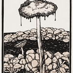 Dripping mushroom (1916) by Julie de Graag (1877-1924). Original from The Rijksmuseum . Digitally enhanced by rawpixel. thumbnail