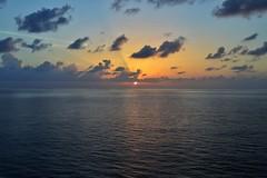Sunset (olivermancini) Tags: sea sunset sun sky blue cruise orange yellow pink contrast colours photography nikon d3200 beautiful