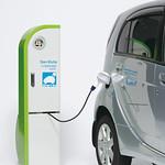 電気自動車・プラグインハイブリッド車用普通充電設備の写真