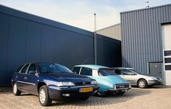 Citroën Xantia V6 Excl. Break / DSuper 5 / C5 2.0i Break (Skylark92) Tags: nederland netherlands holland brabant noordbrabant heusden heesbeen citroënforum najaarsmeeting road tree windshield wheel citroën c5 20i 16v break 2003 84lsbs onk car window dsuper 5 1971 dh4190 xantia v6 exclusive 43kkb6 2001