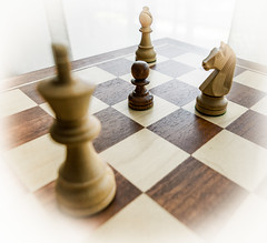 El peón rodeado. (Ricardo Pallejá) Tags: monocromático monocromo chess ajedrez game nikon tablero macromondays 7dwf new macrofotografia d3200 contraluz