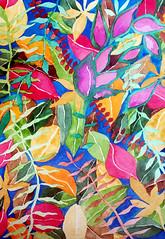 Watercolor Painting (Imara U.) Tags: watercolor pintura painting art arte artista artist aquarela flores flowers colorful colors color cores colorido nature natureza