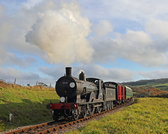 Afflington (Treflyn) Tags: lswr t9 class 440 30120 afflington swanage railway don bishop steam recreations photo charter