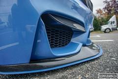 Tarek's M4 Build (Boost+Barbells) Tags: m4 bmw stance boost boostandbarbells slammed marina blue carbon fiber cf nj