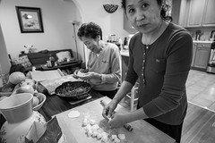 making Chinese dumplings (vhines200) Tags: home interior 2018 family concord california dumplings chineseamerican cooking leica