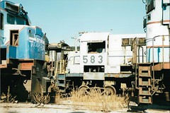 MEX24 BX620 583 (stevenjeremy25) Tags: ferromex fxe fnm mexico train railway railroad fcp pacifico empalme alco bx620 583 rsd5