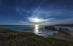 Natural Bridges State Beach (CraDorPhoto) Tags: canon5dsr beach landscape sun sky blue outdoors nature california usa coast water ocean pacific