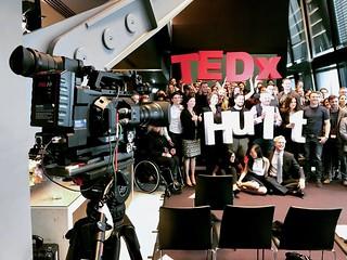Bluefin TV - Filming TEDX Talk at Hult Business School, London