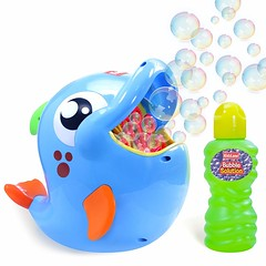 Automatic Bubble Blower for Kids (mywowstuff) Tags: gifts gadgets cool family friends funny shopping men women kids home