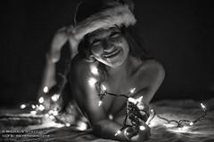 Jessica | Happy Lewdmas! (mysticmindeye) Tags: christmas holidays lewdmas fineart blackandwhite christmaslights studio ambientlight hawaii oahu bigislandmodel glamour glamourmodel impliednude christmasboudoir boudoir