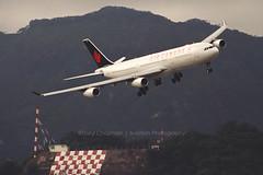 "Airbus, A340-313, C-FYLD, ""Air Canada"", VHHH, Kai Tak, Hong Kong (Daryl Chapman Photography) Tags: cfyld airbus a340 a343 ac aircanada hongkong kaitak igs 13 runway landing arrival plane planes planespotting vhhh 170 a340313 lvfpu landinggear fun hongkonginternationalairport"