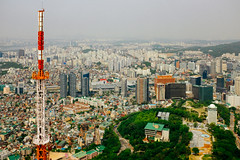 Seoul (stuckinseoul) Tags: fujifilmx100s asian x100s namsantower seoul asia nseoultower namsan photo southkorea city korean fujifilm korea capital seoultower kr