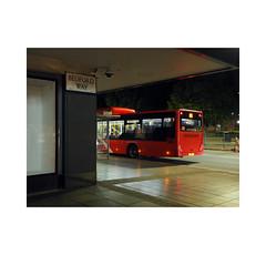 the 42a (chrisinplymouth) Tags: bus night street corner red plymouth devon england uk cw69x wb xg citybus