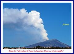 Etna e Fumo (fr@nco ... 'ntraficatu friscu! (=indaffarato)) Tags: italia italy sicilia sicily catania etna montagna mongibello monte crater cratere fumo