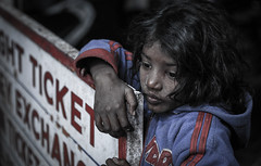 Face of India (tsephu501) Tags: ifttt 500px child young girl face inocent skin dry beggar begging looks portrait india bihar