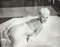 Jayne Mansfield (poedie1984) Tags: jayne mansfield vera palmer blonde old hollywood bombshell vintage babe pin up actress beautiful model beauty hot girl woman classic sex symbol movie movies star glamour girls icon sexy cute body bomb 50s 60s famous film kino celebrities pink rose filmstar filmster diva superstar amazing wonderful photo picture american love goddess mannequin black white mooi tribute blond sweater cine cinema screen gorgeous legendary iconic will success spoil rock hunter 1957 oorbellen earrings bad bathroom