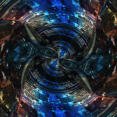 in the matrix... (Mark Noack) Tags: light color photoshop layers layering surreal expressionism abstract futurist sciencefiction scifi science fiction