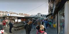14 (ERREGI 1958) Tags: canal grande venezia rialto ponte acqua water italia italy veneto turisti passanti cielo sky fermata actv vaporetto battello lagunare bus venice