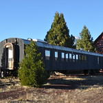 Milwaukee Road Coach 619, ex-514 - 3/4 Left Side View thumbnail