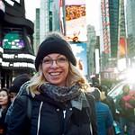 Portrait, Times Square, New York City thumbnail