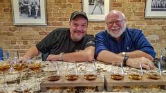 Jeff Bannister and Tom Taylor at Husk (RandomConnections) Tags: bourbon bourbontasting greenville huskrestaurant restaurant southcarolina