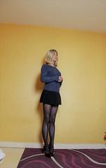 655 (Lily Blinz) Tags: crossdress crossdresser crossdressed collant crossdressing crossgender tgirl travesti transvestite tv tg tranny transgender transgenre trav trans tranvestite lilyblinz wolford