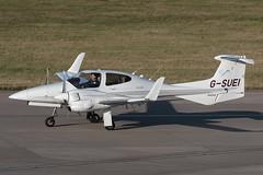 Diamond DA42 Twin Star G-SUEI Sue Air (Mark McEwan) Tags: diamond da42 twinstar gsuei sueair edinburgh edinburghairport edi aviation aircraft airplane diamondaircraftindustries