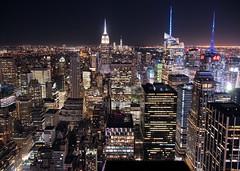 New York City at night (kareszzz) Tags: architecture landscape cityscape urbanphotography travel highiso canon6d ef24105 ny nyc newyork newyorkcity 2018 acdseeprofessional2018 acdsee night evening summer june manhattan citylights sights skyscrapers us usa topoftherock radiocity