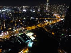 Ho Chi Minh City by night - Seen from Vinhomes Golden River - Aqua