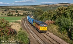 56078   Edale   31st Aug '18 (Frank Richards Photography) Tags: colas class 56078 is seen passing through edale with rhtt wagon move from york thrall along hope valley coleham isu taken 31st august 2018 grid derbyshire high peak nikon d7100