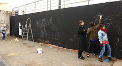 281A6268 Rennes Impermanence Galerie @Maya Wnu @Anne Laure Chevallier @héléna Gath (blackbike35) Tags: rennes bretagne france impermanence galerie mur wall street streetart paint painting art work writing artistes women